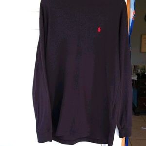 Ralph Lauren blue tag large Polo turtleneck black